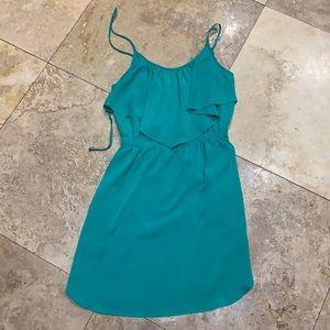 American Eagle emerald green dress XXS